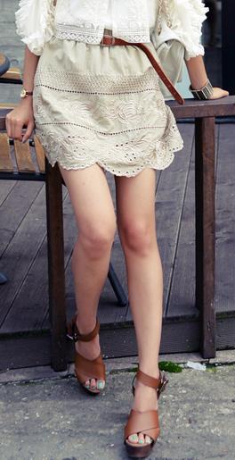 Tư vấn: Mặc quần short, váy ren mùa thu? - 10