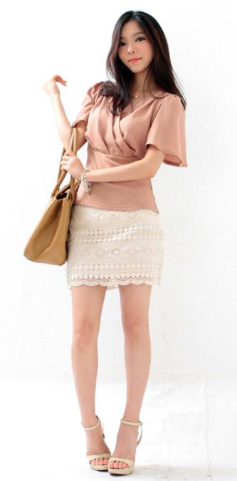 Tư vấn: Mặc quần short, váy ren mùa thu? - 13