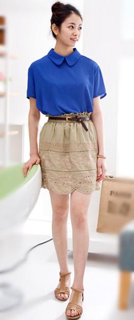 Tư vấn: Mặc quần short, váy ren mùa thu? - 9