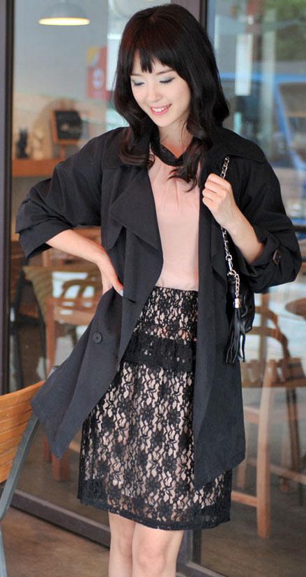 Tư vấn: Mặc quần short, váy ren mùa thu? - 16