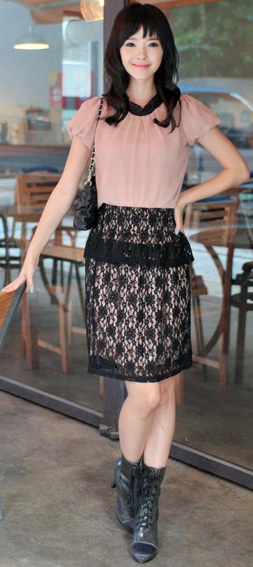 Tư vấn: Mặc quần short, váy ren mùa thu? - 15
