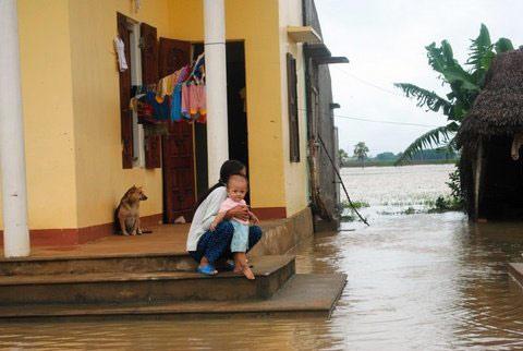 Thanh Hoá, Nghệ An chìm trong biển nước - 14