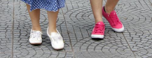 Ngắm giày, dép trên phố Sài Gòn - 11