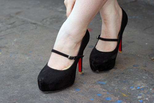 Ngắm giày, dép trên phố Sài Gòn - 3