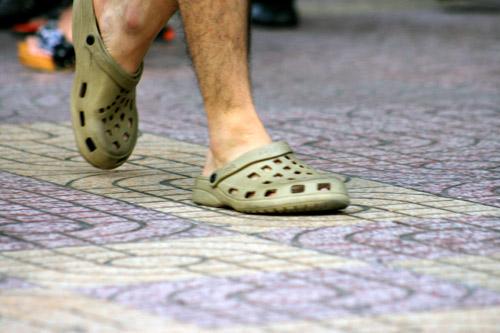 Ngắm giày, dép trên phố Sài Gòn - 17