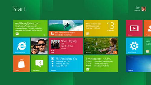 Microsoft cơ cấu lại hình ảnh Windows, trình diễn Windows 8 - 2