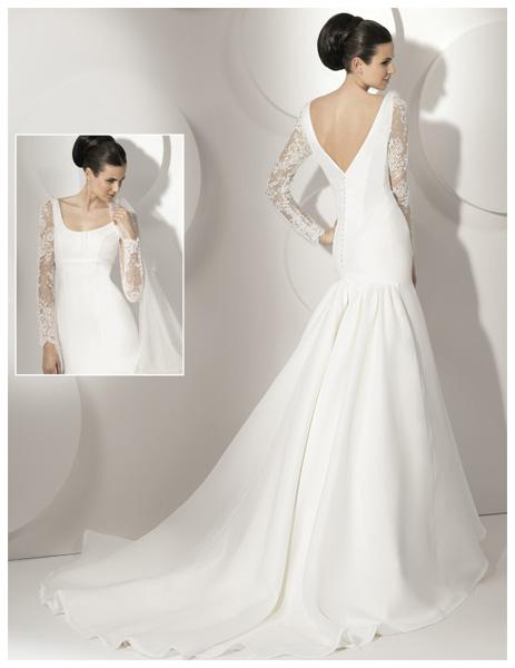 Quyến rũ váy cưới thập niên 50 - 2