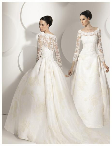 Quyến rũ váy cưới thập niên 50 - 7