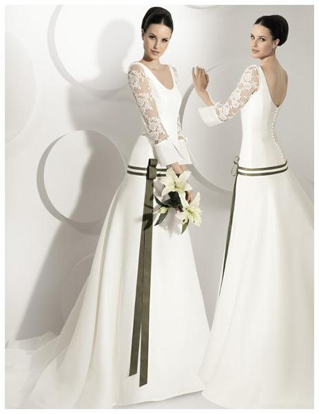 Quyến rũ váy cưới thập niên 50 - 9