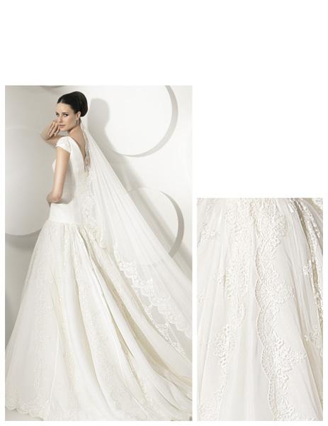 Quyến rũ váy cưới thập niên 50 - 11