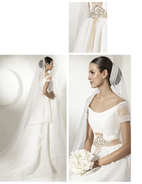 Quyến rũ váy cưới thập niên 50 - 16