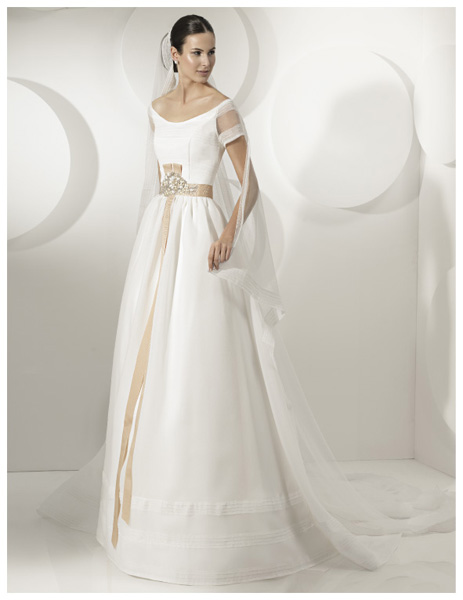 Quyến rũ váy cưới thập niên 50 - 15