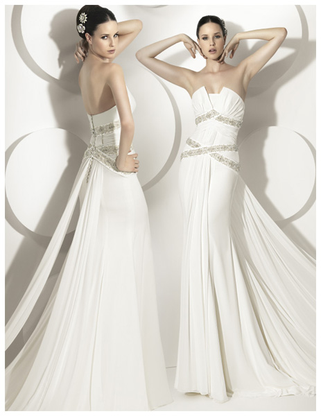 Quyến rũ váy cưới thập niên 50 - 21
