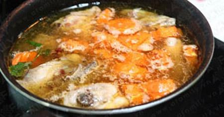 Thơm lừng gà nấu patê - 6