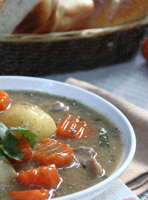 Thơm lừng gà nấu patê - 12
