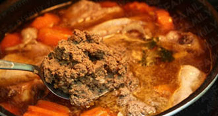 Thơm lừng gà nấu patê - 8