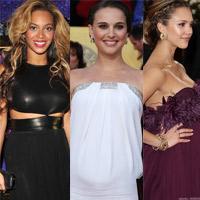 Những bà bầu tuyệt đẹp tại Hollywood