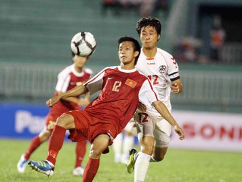 Video U23 VN - SV Hàn Quốc: Ôm hận (Cúp TP.HCM) - 1