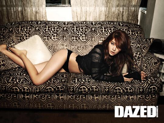 Yoon Eun Hye sexy hơn cả nude - 5