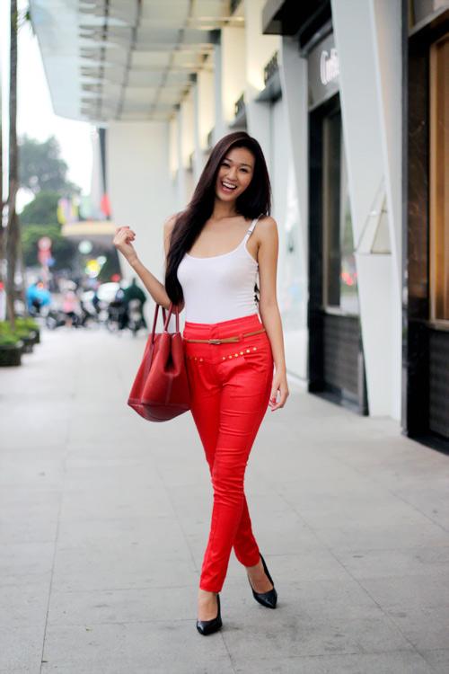 Mặc đẹp như người mẫu với quần lưng cao - 17