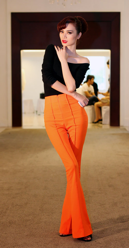 Mặc đẹp như người mẫu với quần lưng cao - 1