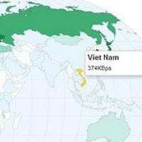 Tốc độ Internet tại Việt Nam nhanh nhất khu vực