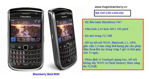 Blackberry Bold giảm giá cho 3 dòng 9930, 9650 và 9000 - 3