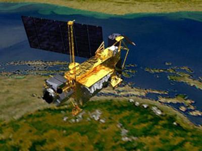 Vệ tinh UARS đã rơi xuống trái đất - 1