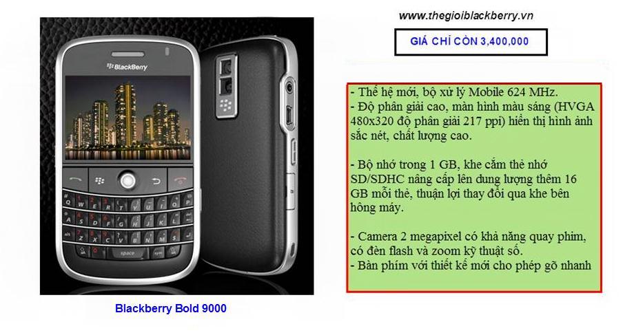 Blackberry Bold giảm giá cho 3 dòng 9930, 9650 và 9000 - 2