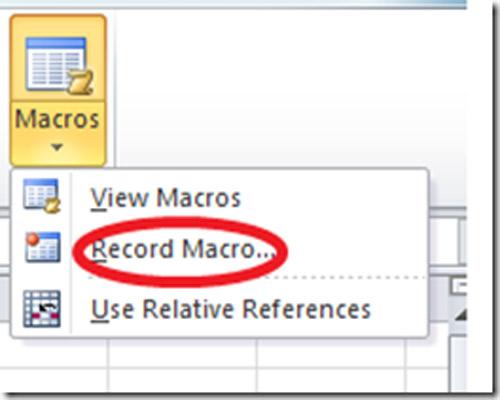Bí quyết sử dụng Macro trong Excel - 1