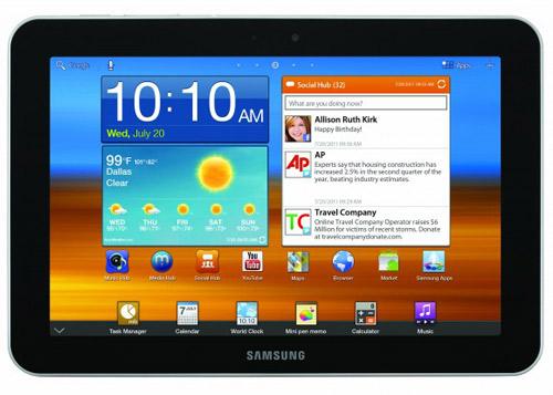 Galaxy Tab 8.9, Galaxy Player 4.0 và 5.0 ra mắt - 1