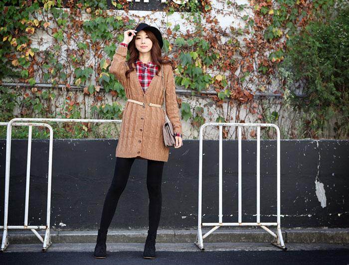 Mặc áo len khi mùa thu se lạnh - 6