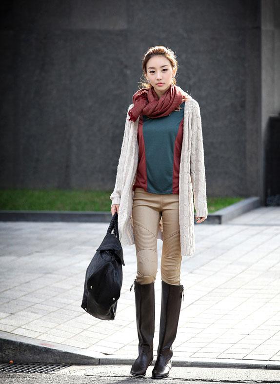 Mặc áo len khi mùa thu se lạnh - 3