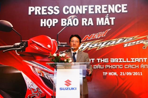 New Suzuki Hayate 125cc SS công bố giá bán tại Việt Nam - 1