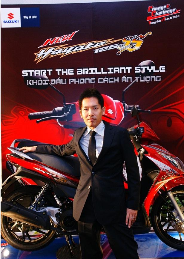 New Suzuki Hayate 125cc SS công bố giá bán tại Việt Nam - 4