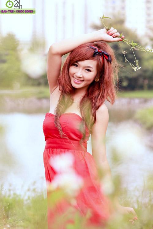 Hoa khôi ĐH Sân khấu điện ảnh đẹp rạng ngời - 10