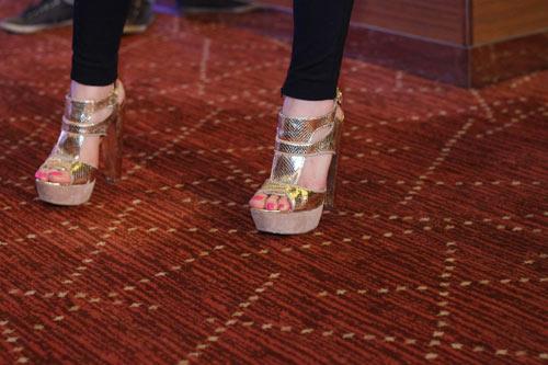 Những đôi giày chói lóa của Sao Việt - 6