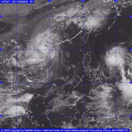 Chiều nay, bão số 5 sẽ vào Hà Nội - 1