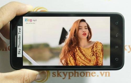 Trải nghiệm thực tế Sky Thunder của hãng Skyphone - 4