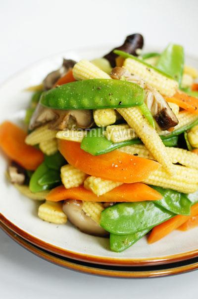 30 phút cho món rau củ xào chay ngon - 8