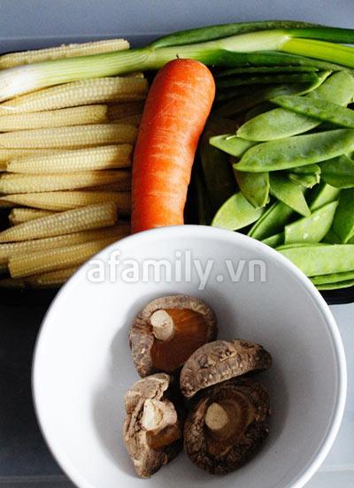 30 phút cho món rau củ xào chay ngon - 1