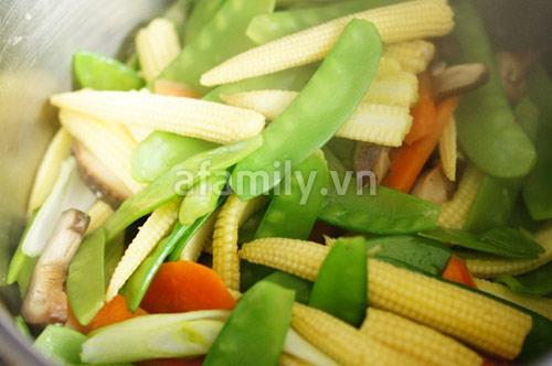 30 phút cho món rau củ xào chay ngon - 6