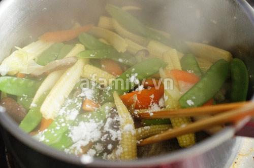 30 phút cho món rau củ xào chay ngon - 7