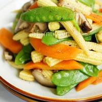 30 phút cho món rau củ xào chay ngon