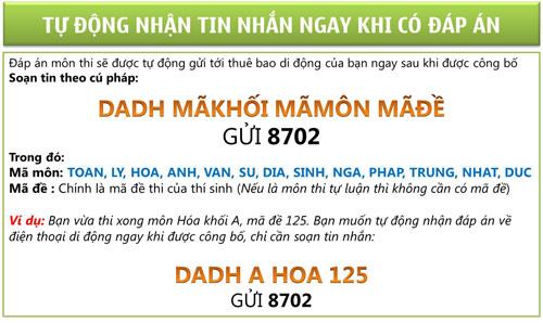 Đáp án, đề thi ĐH 2012 sớm nhất tại 24H - 1