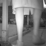 Phi thường - kỳ quặc - Hoảng hốt phát hiện bóng ma trong vườn nhà