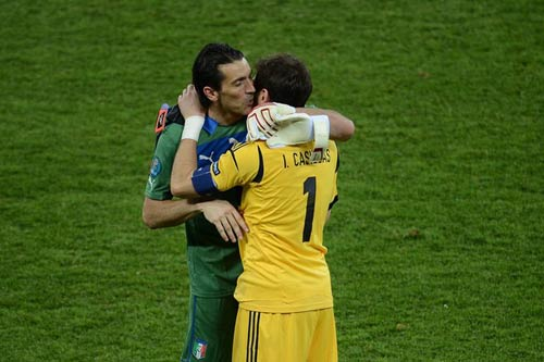 QBV FIFA 2012: Hy nhn v Casillas, Euro 2012, casillas, qua bong vang fifa 2012, qbv fifa 2012, iniesta, ronaldo, messi, qbv euro iniesta, pirlo, tay ban nha vo dich euro, chung ket euro, doi tuyen tay ban nha, euro 2012, ket qua euro 2012, video euro 2012