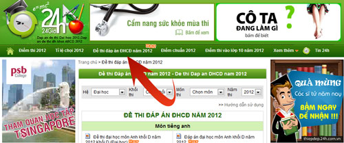 Gi  gii  thi mn Ha khi A 2012, Gio dc - du hc, dap an mon hoa, dap an thi dai hoc 2012, goi y giai de thi dai hoc, tuyen sinh dai hoc 2012, tuyen sinh 2012, bao, tin tuc, tin hot, tin hay