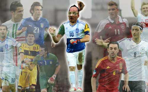 i tm &quot;Siu cu th&quot; ti Euro 2012, Bng , sieu cau thu euro, ronaldo, xavi, ozil, buffon, casillas, euro 2012, euro, ket qua euro, bong da, bong da 24h, bao bong da, ket qua bong da, lich thi dau bong da
