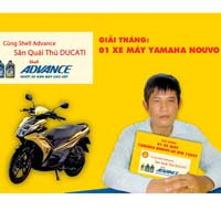 Cng Shell Advance sn qui th Ducati